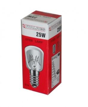 INDESIT 25W 300 ° GRADI FORNO E14 Lampada Lampadina 240V 25W